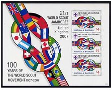 antigua 2007 scout scoutisme drapeaux flags scouting baden powell jamboree ms3v
