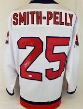 Devante Smith-Pelly Signed Washington Capitals White Home Jersey (JSA COA)