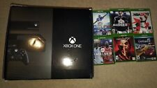New listing Microsoft Xbox One Day One Edition 500Gb Black Console +kinect and 6 games