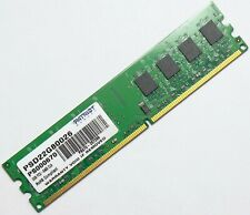 2GB DDR2-800 PC2-6400 Desktop RAM Memory PC Computer DIMM 240-pin Module Patriot
