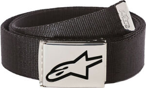 Alpinestars Ageless Web Belt Black Chrome