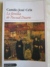 La familia de Pascual Duarte by Camilo José Cela, Paperback, 2007
