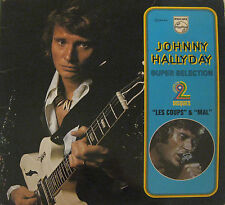 JOHNNY HALLYDAY: 2 LP SUPER SELECTION