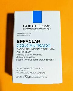 La Roche-Posay Deep CONCENTRATED ACNE Cleaning Soap EFFACLAR † 70g Bar † 1ct