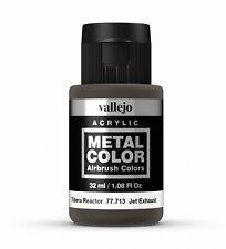 Vallejo Metal Color Acrílico De Escape Jet 77.713 pintura a base de agua 32ml