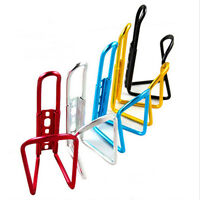 Cycle Bike Bicycle MTB Aluminum Alloy Water Bottle Cage Holder Rack Cups hc HL