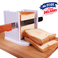 Bread OK! Slicer Cutter Slicing Tools Maker Kitchen Guide Toast Sandwich Mold