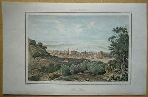 1848 print PORT LOUIS, MAURITIUS, INDIAN OCEAN (#6)