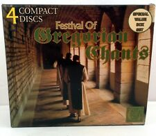 Festival of Gregorian Chants Complete 4 CD Set