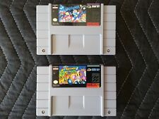Super Nintendo (SNES) Authentic 2 Game Lot - Super Bomberman & Super Bomberman 2