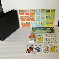 McDonald's Pokemon 25th Anniversary Non-Holo Complete Set 25 Cards + Extras