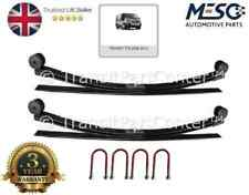 A PAIR OF 3 LEAF SPRING + UBOLTS FITS FOR FORD TRANSIT MK7 2006-2014 UPGRADE 2+1