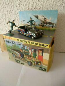 RARE 4L SINPAR Tanguy laverdure Dinky toys ORTF feuilleton Chevaliers du ciel