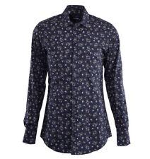 Floral Button-Front 100% Cotton Casual Shirts for Men