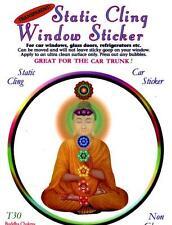 Buddha Chakras - Static Cling Window Sticker