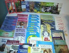 HUGE Lot of 53 Teacher Resource Kids Classroom Fiction & Non Books Workbooks