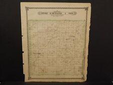 Kansas Saline County Map Falun Township   1884  L10#10