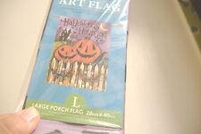 ~New~Halloween'S Haunting~Pumpkin Flag~
