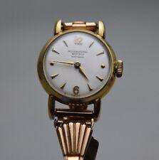 Vintage IWC Schaffhausen 18K Yellow Solid Gold Watch Wristwatch Ladies 1311844
