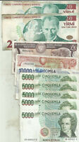 EUROPE LOT 10 NOTES TURKEY-ITALY-CYPRUS. SPECIAL OFFER. 8RW 11MAR