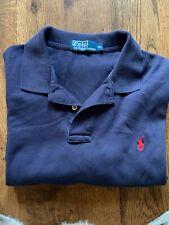 Men Polo Ralph Lauren  Shirt Navi Blue Size  XL
