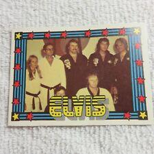 1978 Monty Gum - ELVIS PRESLEY - Club Card From Holland - (Blank Back) - Card 37