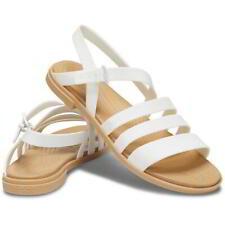 Crocs Tulum Sandal Womens Ladies Strappy Sandals White Size 4-8