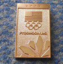 NOC USA OLYMPIC PYEONGCHANG 2018 GOLD VERSION PIN BADGE