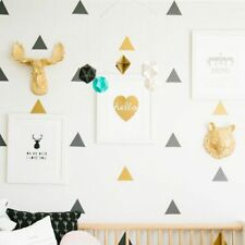 Cute Kids Room Home Wall Decoration Removable Mural Triangle Sticker Decal