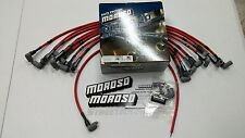 MOROSO ULTRA 40 RED SPARK PLUG WIRES SBC 350 383 Over Valve Covers Socket 73683