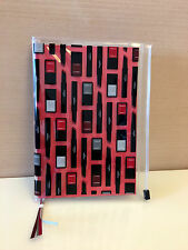 New CHANEL MAKEUP NOTEBOOK with ZIP Pocket for Documents /BOOK Cover