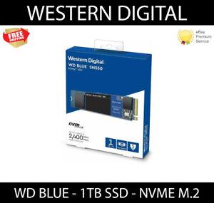WD Blue SN550 1TB NVME SSD M.2 2280 PCIe Gen 3 Interface