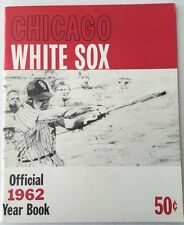 1962 Chicago White Sox Baseball Yearbook