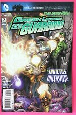 Green Lantern New Guardians #7 Invictus Unleashed Dc New 52 Comics F