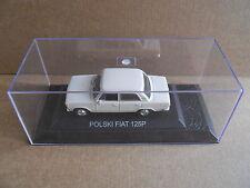 FIAT 125 POLSKI Legendary Cars 1:43 Die Cast in Box in Plexiglass [MV10]