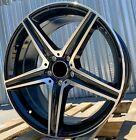 18x8 Black Wheels Fit Mercedes GLC GLE GLK S430 S500 E320 E500 CLK 18