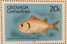 FULL SHEETS Grenadines 1980 401a - Fish Definitive - MNH