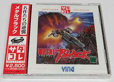 Metal Black (SS Collection) Japan JPN Sega Saturn * Brand NEW Sealed Top Shooter