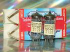 2x Telefunken ECC82 Röhre Tube (Tektronix Matched Pair = World's Best Quality)