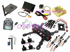 FPV 5.8G TX RX Full Set Carbon Fiber Mini 250mm C250 Quadcopter i6 transmitter