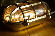 Marine Nautical Light Brass ship Wall & Celling Oval Passage Light Traditional