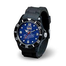 Kansas City Royals MLB Baseball Team Men's Black Sparo Spirit Watch