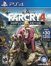Far Cry 4 Complete Edition (PlayStation 4) PS4 - NEW SEALED FREE WORLDWIDE SHIP