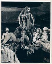 1971 Actress Dancer Little Egypt Lorraine Shalhoub Gideon Play TV Press Photo