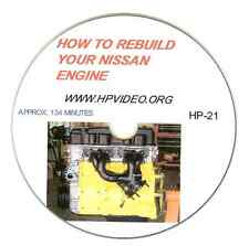 "How to Rebuild your Nissan Datsun 200SX 240SX KA24 Engine Video Manual ""DVD"""