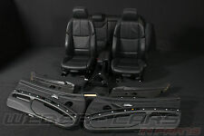 BMW M3 3er E92 Coupe Leder Sitze Lederausstattung black leather sport seats