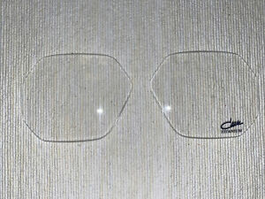 Cazal 743 Clear Replacement Lenses (Pair)