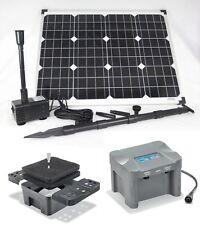 50W Pompe solaire Siena DE BASSIN FILTRE D'immersion Batterie Ruisseau coulant