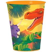 Prehistoric Dinosaur 16oz Plastic Cup Birthday Party Bag Filler Loot Favour