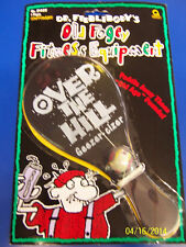 Old Fogey Fitness Equipment Paddle Ball Over Hill Birthday Party Favor Gag Gift